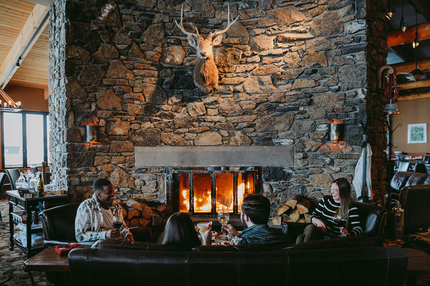 Chimney Corner Fireside Dining