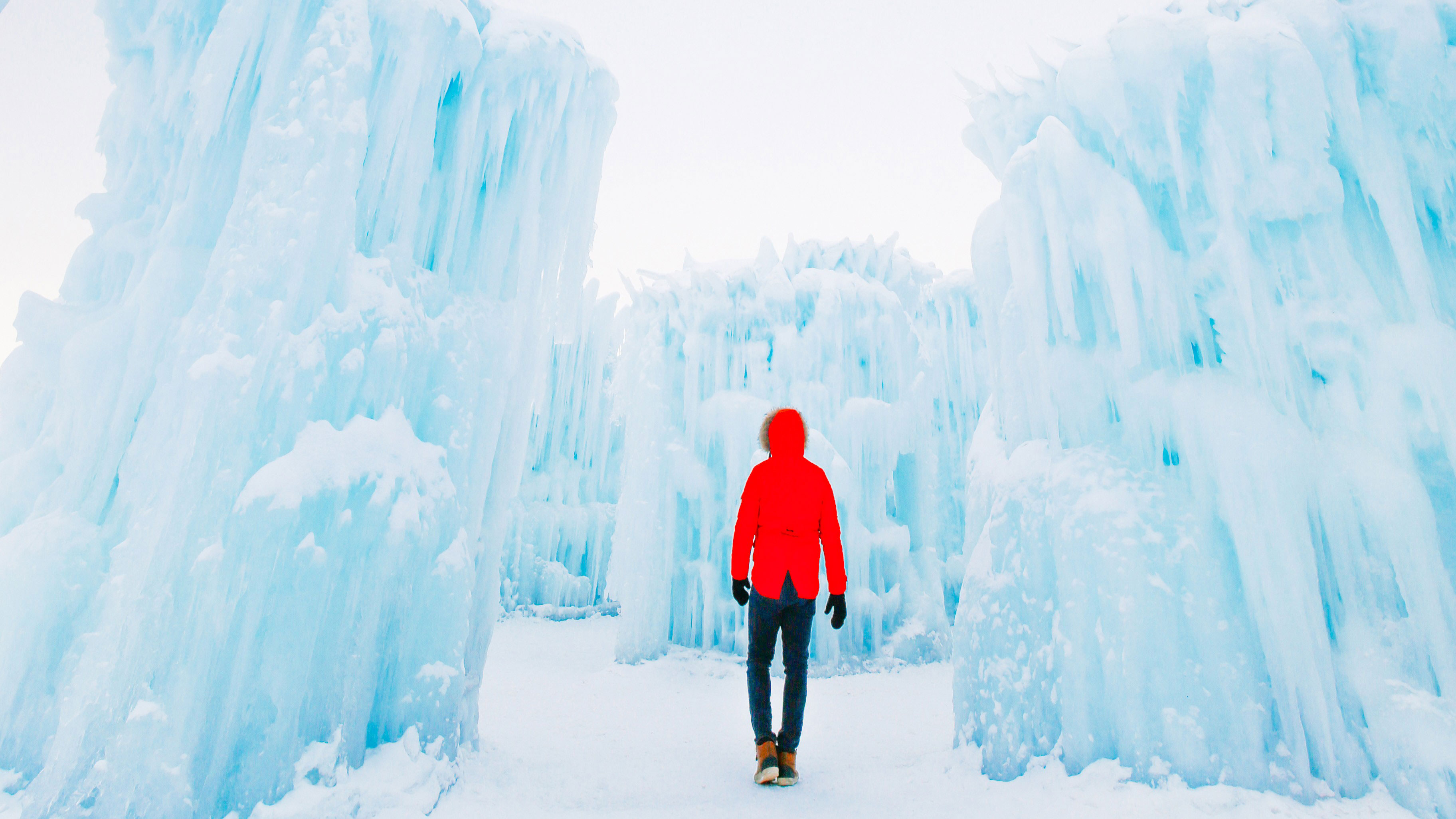 Ice Castles in Edmonton