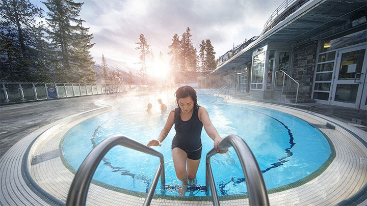 Banff Upper Hotsprings