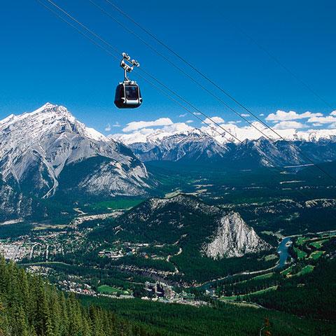 Paseo en góndola en Banff