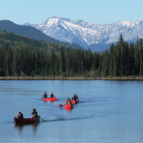 Canoeing in William A Switzer Provincial Park