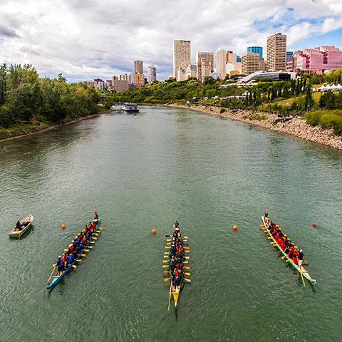 Dragon Boat Festival North Sakatchewan Edmonton