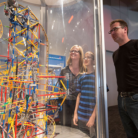 Tentoonstelling 'Telus World of Science', Edmonton