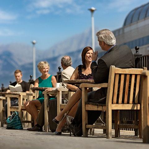 Eten en restaurants in Jasper, Canadese Rockies