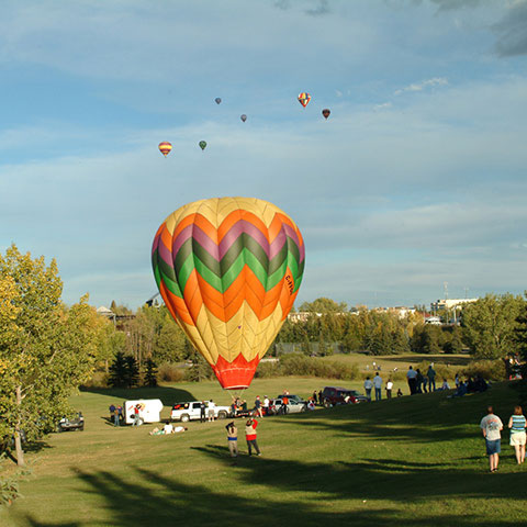 Hot air ballons Grande Prairie