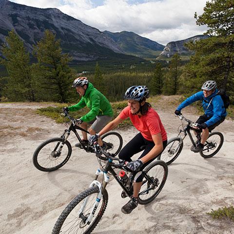 Mountainbiken im Banff National Park