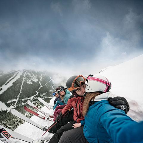 Esquí en Lake Louise, Banff National Park