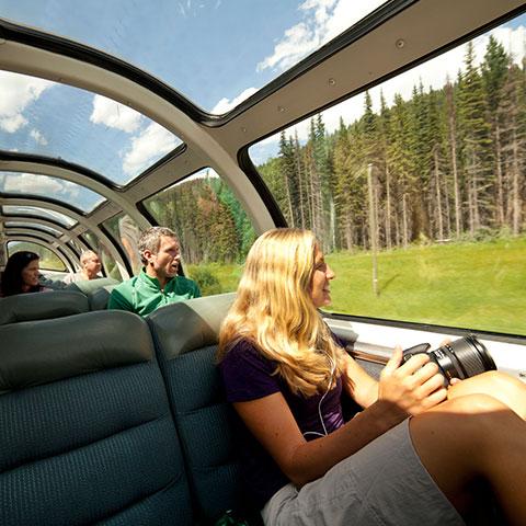 Treinreis, Jasper National Park, Canadese Rockies