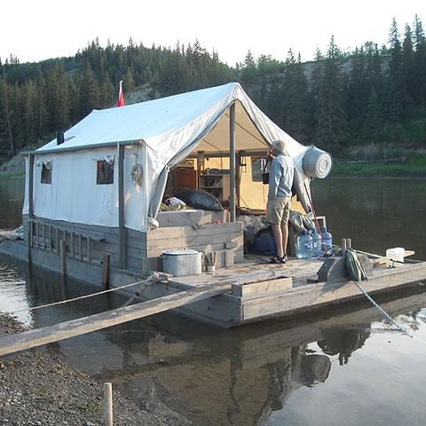 Red Deer boating