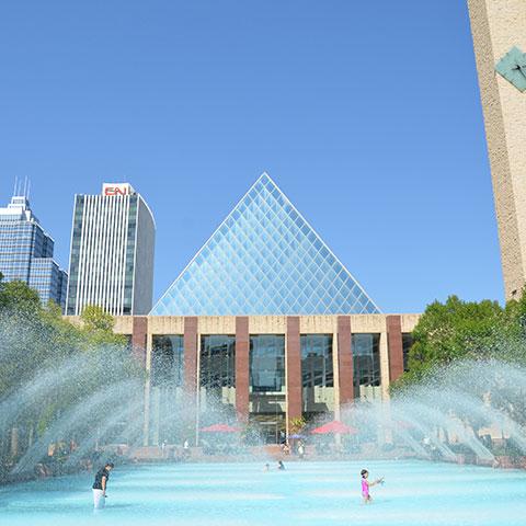 Landmark Buildings Edmonton