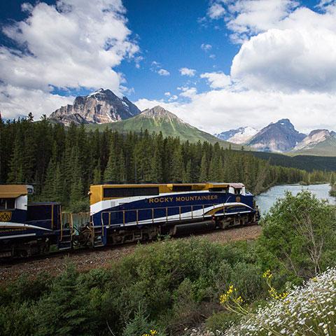 Train Travel Rocky Mountaineer