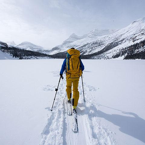 Cross Country Skiing Wapta Traverse