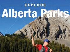 Verken de parken van Alberta