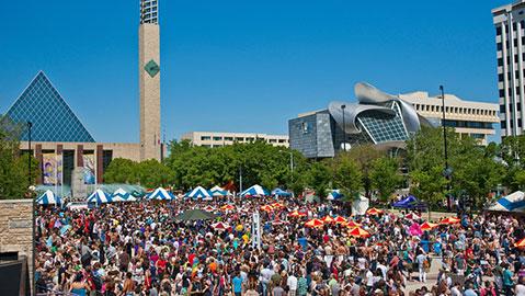 Festival del orgullo, Edmonton
