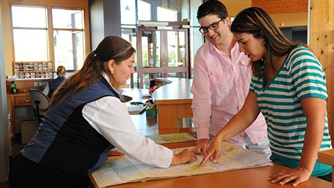 Visitor information centre Grande Prairie