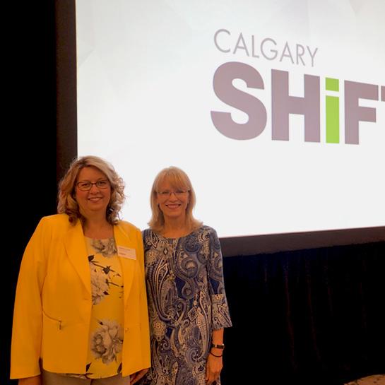 Shelley Grollmuss and Cindy Ady