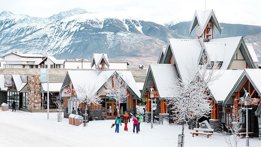 Downtown Jasper, Canadian Rockies