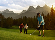 Golfing at Silvertip Golf Resort