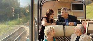 VIA Rail through the Canadian Rockies