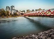 Peace Bridge in Calgary Alberta