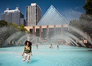 Churchill Square, Edmonton, Alberta