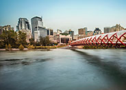 Peace Bridge in Calgary Alberta